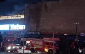 Ankara Podium AVM'de Yangın