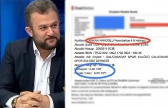 Fenerbahçeli Hakan Hanoğlu'ndan Aslan Gibi Sponsor Kampanyasına 6-0'lık Yardım