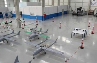İHA Fabrikası Ankara'da Üretime Başladı