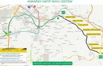Mansur Yavaş Duyurdu: Dikimevi-Natoyolu Metro Hattı için Çalışmalar Başladı