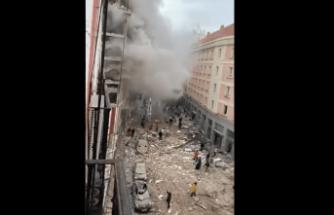 Son Dakika: Madrid'de Şiddetli Patlama!
