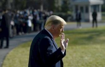 Trump Beyaz Saray'a İşte Böyle Veda Etti