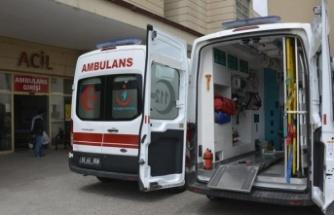 Turistleri Taşıyan Araç TIR'a Çarptı: 10 Yaralı