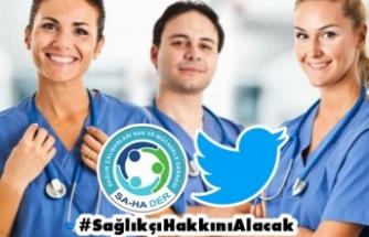 Sendikadan Umudu Kesen Sağlık Çalışanları Seslerini Twitter'da Duyurdu