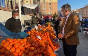 Ertuğrul Çetin'den Semt Pazarlarına Ziyaret
