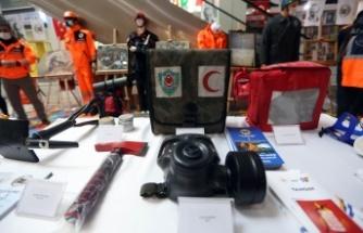 Yenimahalle'de Deprem Haftasında Sivil Savunma Sergisi