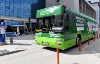Ankara'da Elektrikli EGO Otobüsleri için Dönüştürme Hazırlıkları Başladı