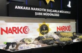 Ankara Narkotikten Dev Operasyon:  127 Kilogram Esrar Ele Geçirildi