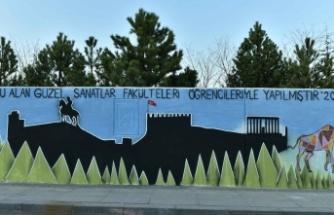 Ankara'nın Sembolleri Duvarlara Taşındı