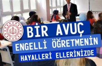Atama Bekleyen Engelli Öğretmenlerden Cumhurbaşkanı Erdoğan'a Çağrı