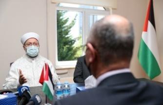 Diyanet'ten Açıklama: Bebek Katili İsrail'in Bir An Önce Durdurulması Gerekiyor