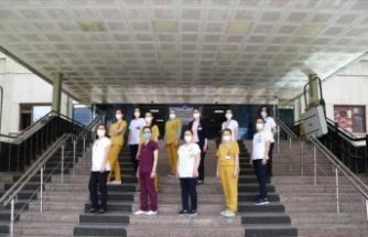 """Gazi Üniversitesi Hastanesi Hemşireleri'nden """"Hemşireler Günü"""" Klibi"""