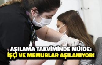 Aşılama Takviminde Müjde: İşçi ve Memurların Tamamına Aşı!