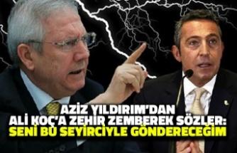 Aziz Yıldırım'dan Ali Koç'a Zehir Zemberek Sözler: Seni Bu Seyirciyle Göndereceğim