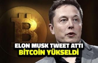 Elon Musk Tweet Attı Bitcoin Yükseldi