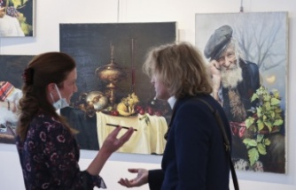 'Türkiye'de Rus Ressamları' Sergisi Ankara'da Açıldı