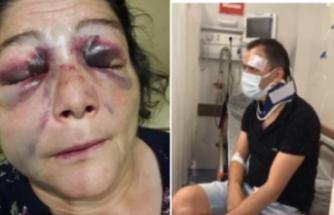 Belediye Başkanının Karşısında Ayak Ayak Üstüne Attıkları için Önce Oğlunu Sonra Annesini Dövdüler!