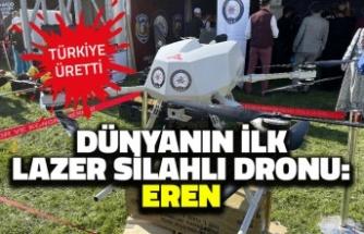 Dünyanın İlk Lazer Silahlı Dronu: Eren