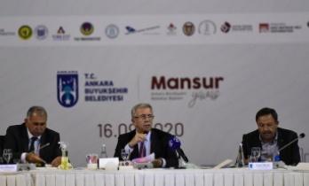 Mansur Yavaş'tan Rektörlere: Emrinizdeyiz