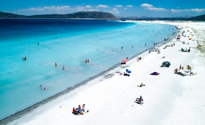 Salda Gölü'nün su kalitesi açıklandı