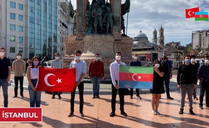 Türk Gençliğinden Azerbaycan'a Dayanışma Mesajı