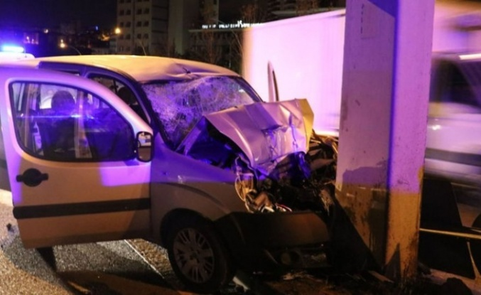 Ankara'da Korkutan Kaza: 1'i Ağır 4 kişi Yaralandı