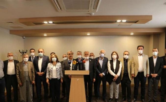 HDP'den Diyarbakır'da Türkiye'yi Bölme Toplantısı!
