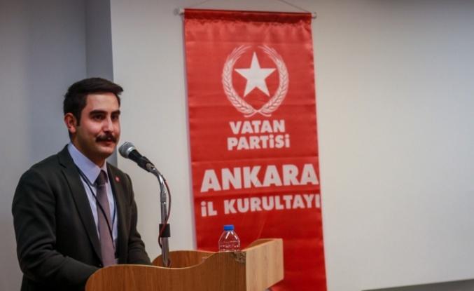 Vatan Partisi Öncü Gençlik Ankara İl Başkanı Değişti