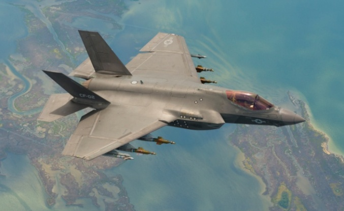 İngiliz Pilot F-35'i Çalıştıramadı: F-35'te Şifre Skandalı