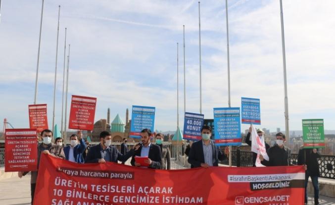 Saadet Partili Gençlerden Ankapark Açıklaması: Hesabını Kim Verecek?