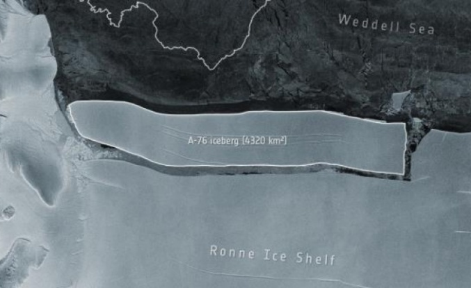 Dünya'nın En Büyük Buz Dağı Antarktika'dan Koptu: Sürükleniyor!