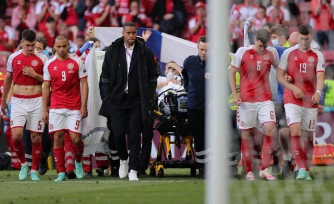 Danimarka- Finlandiya Karşılaşmasında Christian Eriksen Kalp Krizi Geçirdi!
