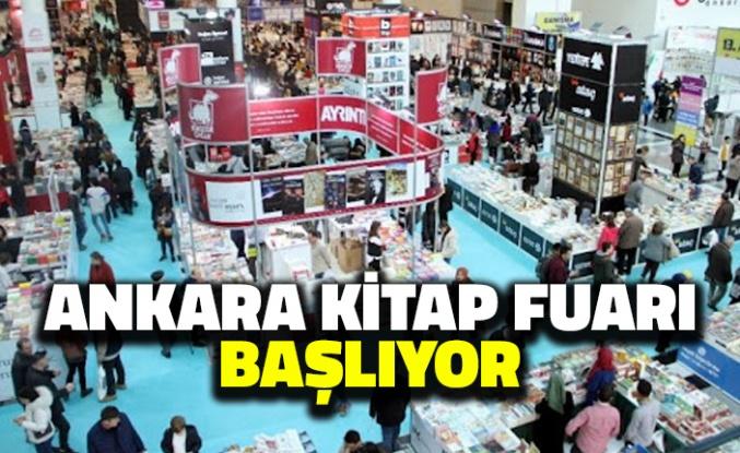 Ankara Kitap Fuarı Başlıyor