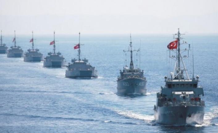 Savaş Gemileri Doğu Akdeniz'e İniyor