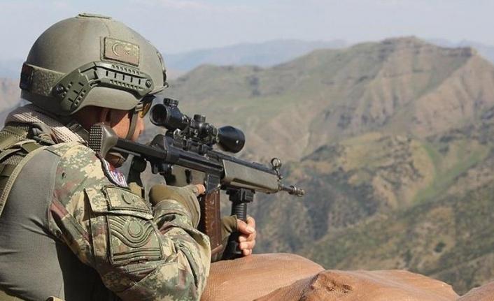 MSB Açıkladı: Irak'ın Kuzeyinde 2 Terörist Etkisiz