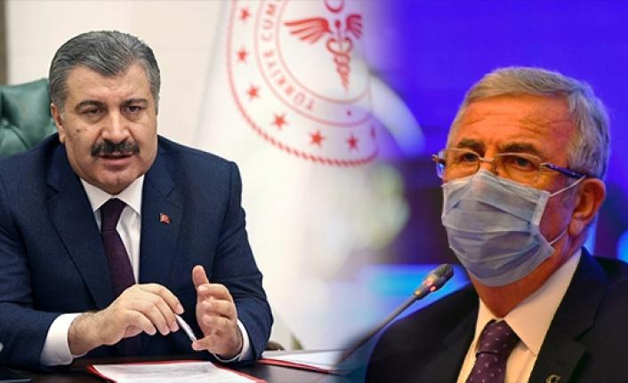 Fahrettin Koca'dan Mansur Yavaş'a: Devlet Teamülü Görünürlüğe Feda Edilmemeli