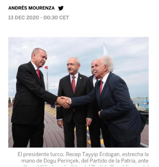 İspanya Gazetesi: Türkiye Dış Siyasetinde Perinçek Etkisi Kuvvetli