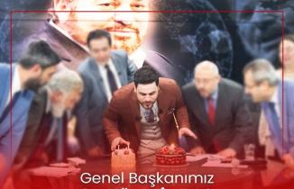 BTP'liler Genel Başkanlarının Doğum Gününü Unutmadı