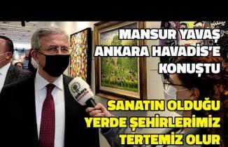 Mansur Yavaş'tan Ankara Havadis'e Özel Açıklamalar: Şehirlerimiz Tertemiz Olur